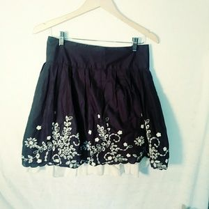 Cute embroidered skirt